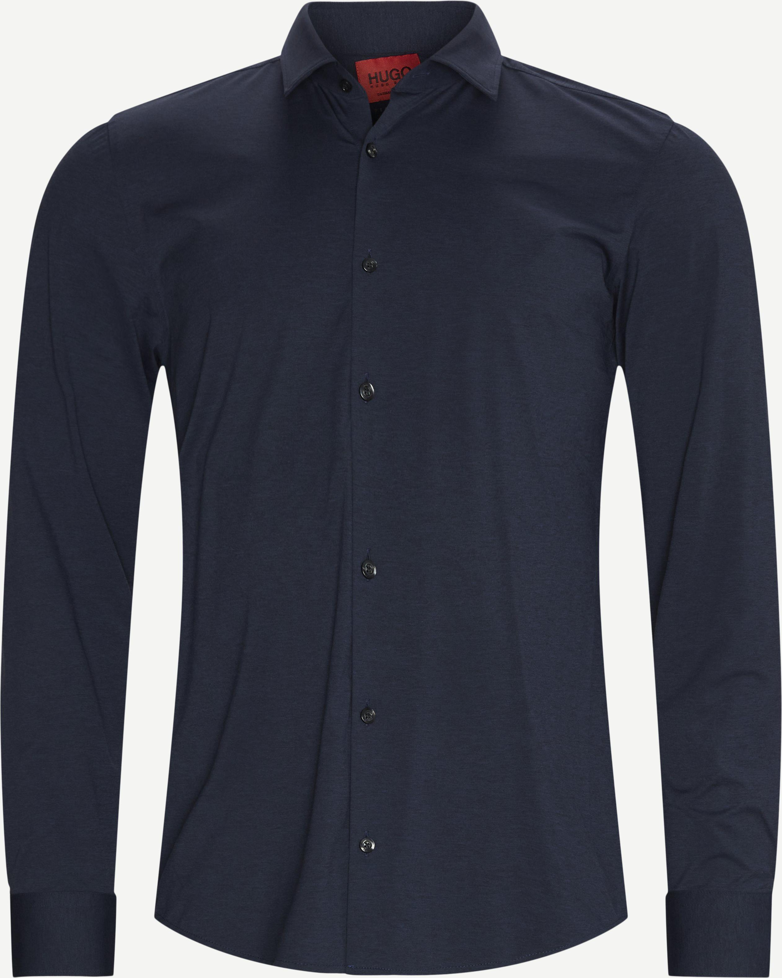 Ermo Skjorte - Skjortor - Slim fit - Blå