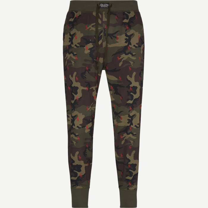 Jersey Jogger Pants - Undertøj - Regular - Army