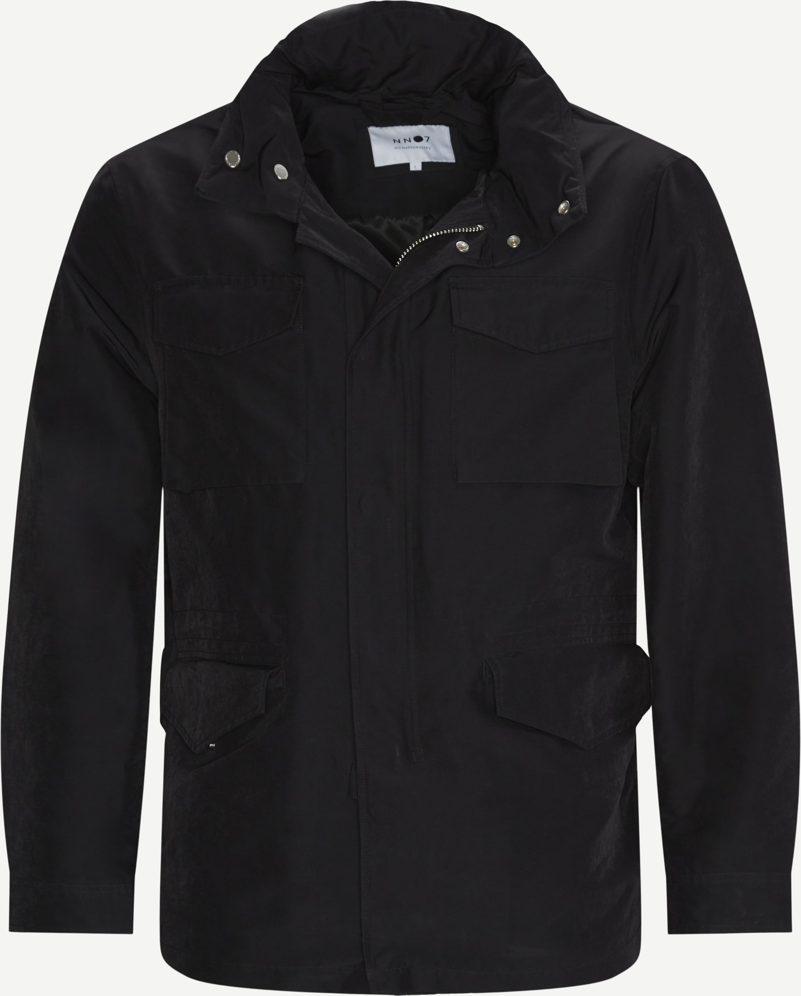 Field Jacket - Jakker - Regular - Sort