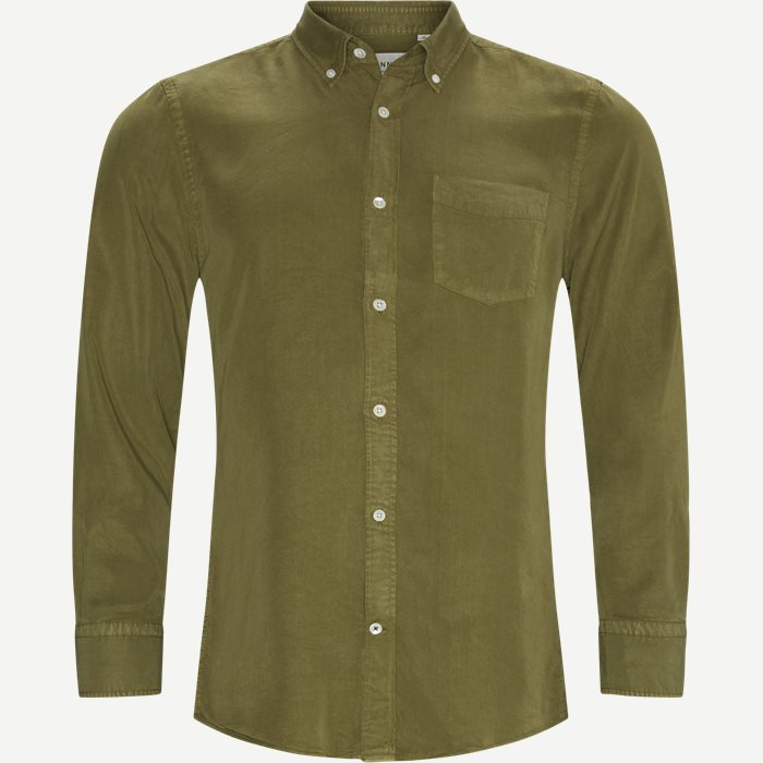 Manza Shirt - Skjortor - Regular - Grön