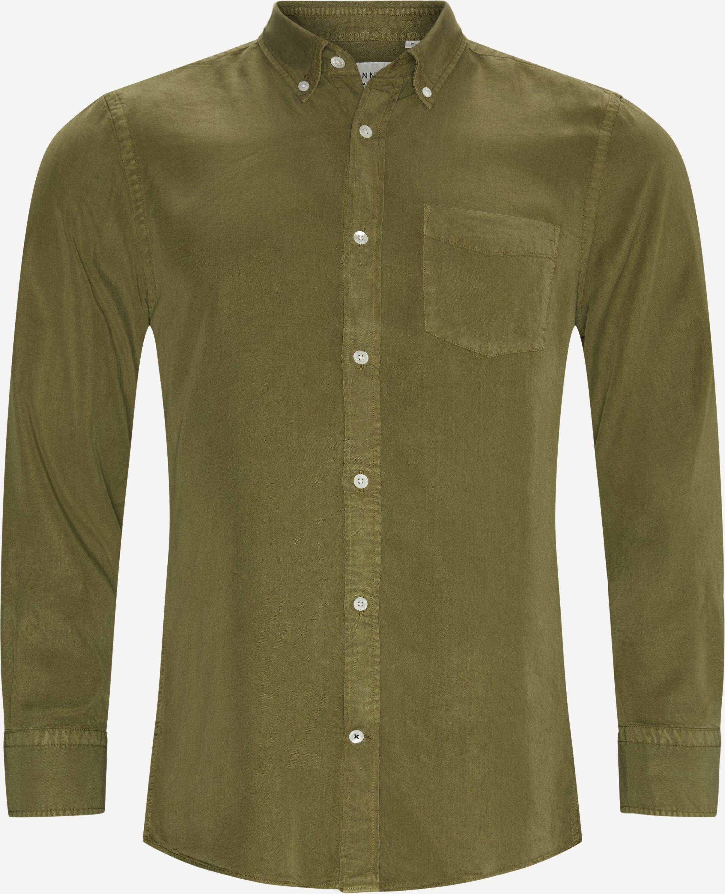 Manza Shirt - Skjortor - Regular - Grön