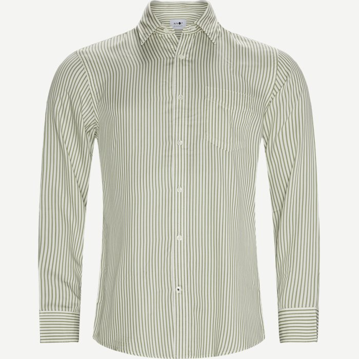 Errico Pocket Shirt - Skjortor - Regular - Grön