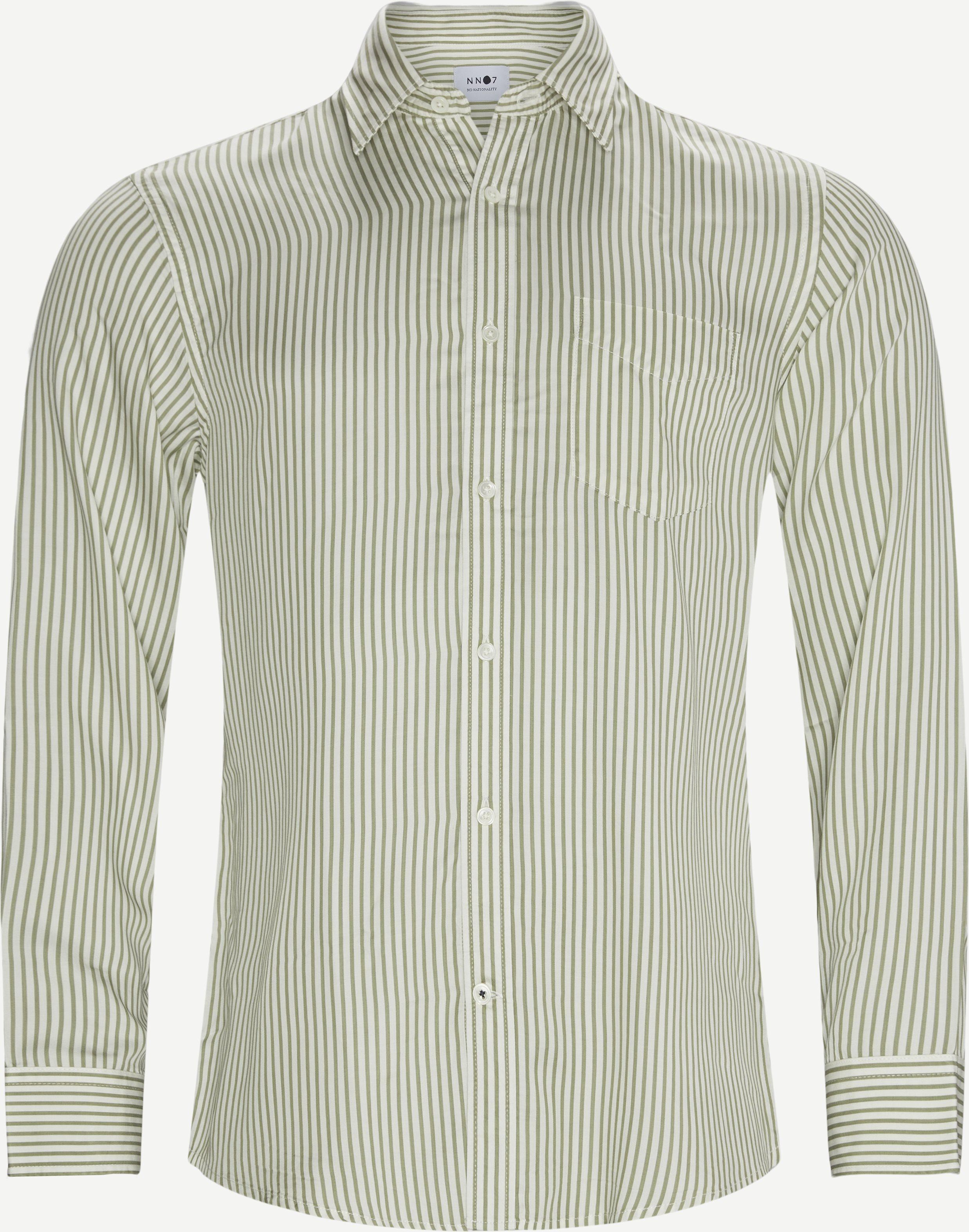 Errico Pocket Shirt - Skjortor - Regular fit - Grön