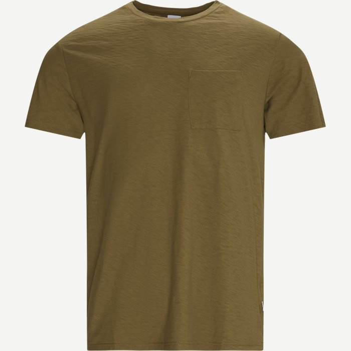 Aspen Tee - T-shirts - Regular - Army