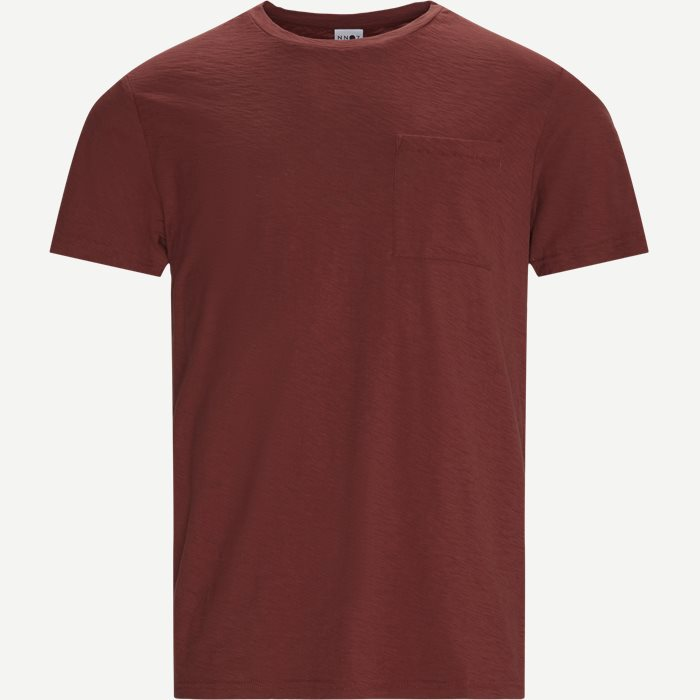Aspen Tee - T-shirts - Regular - Röd