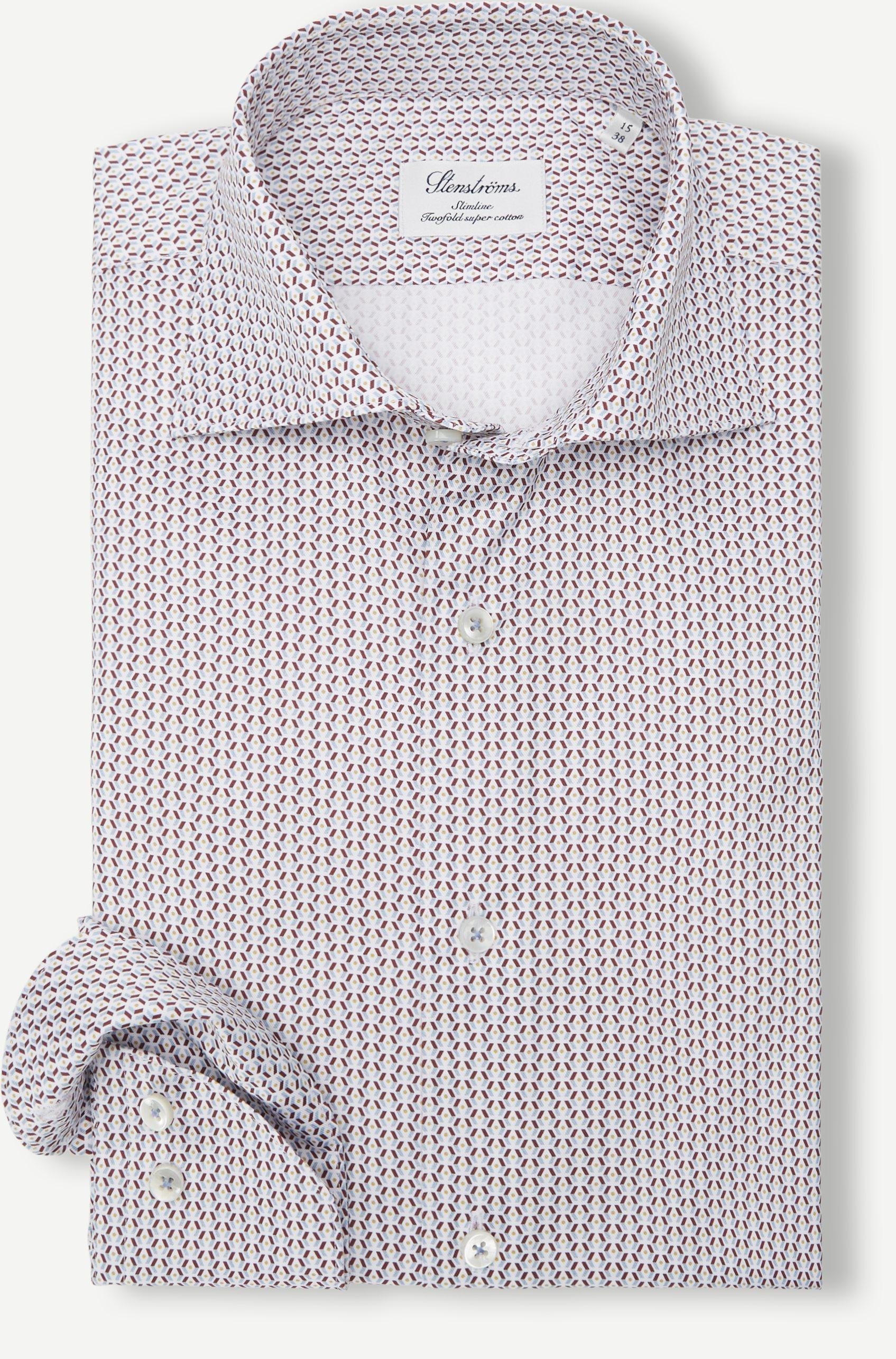 Hemden - Weinrot