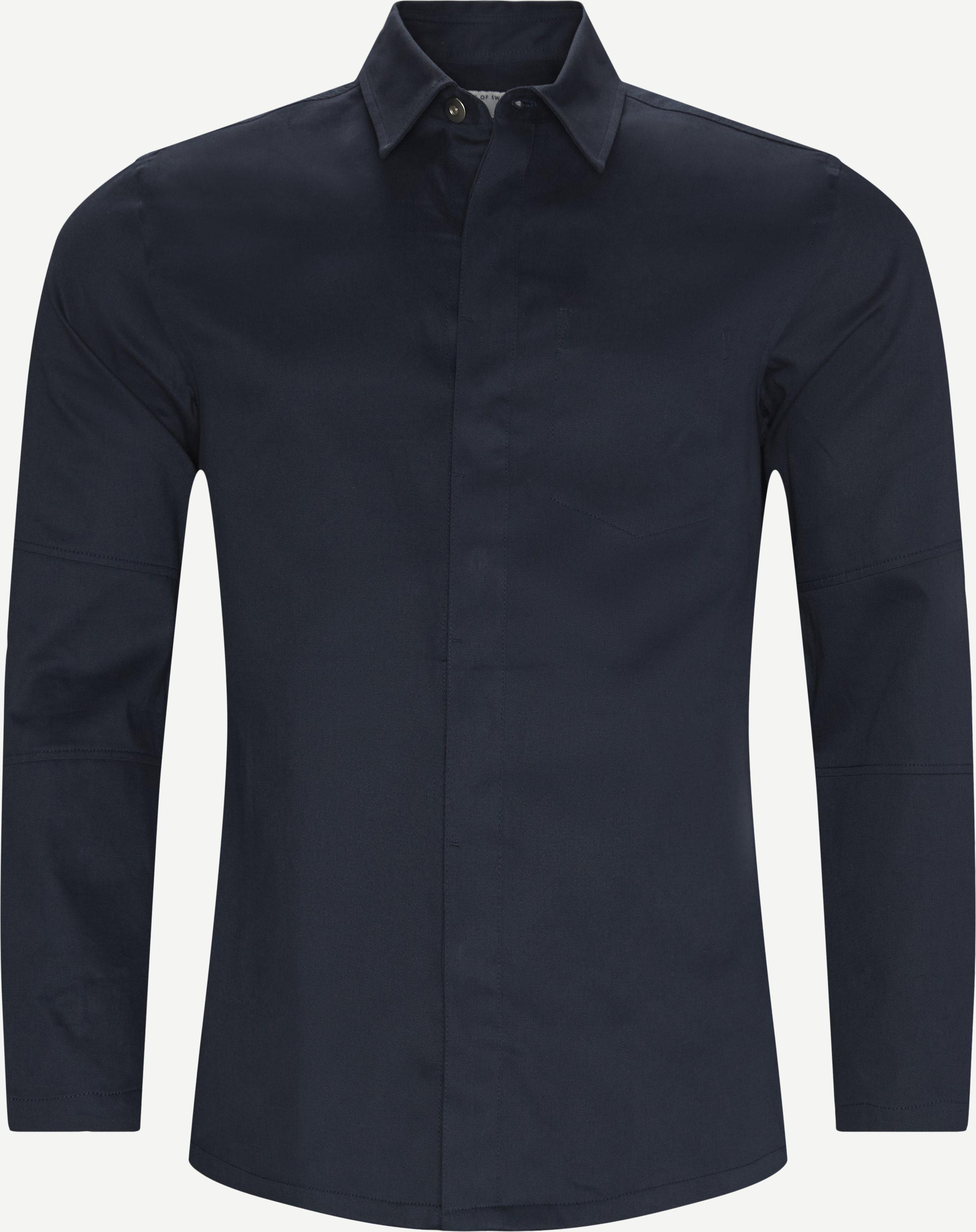 Siskin Skjorte - Shirts - Regular - Blue