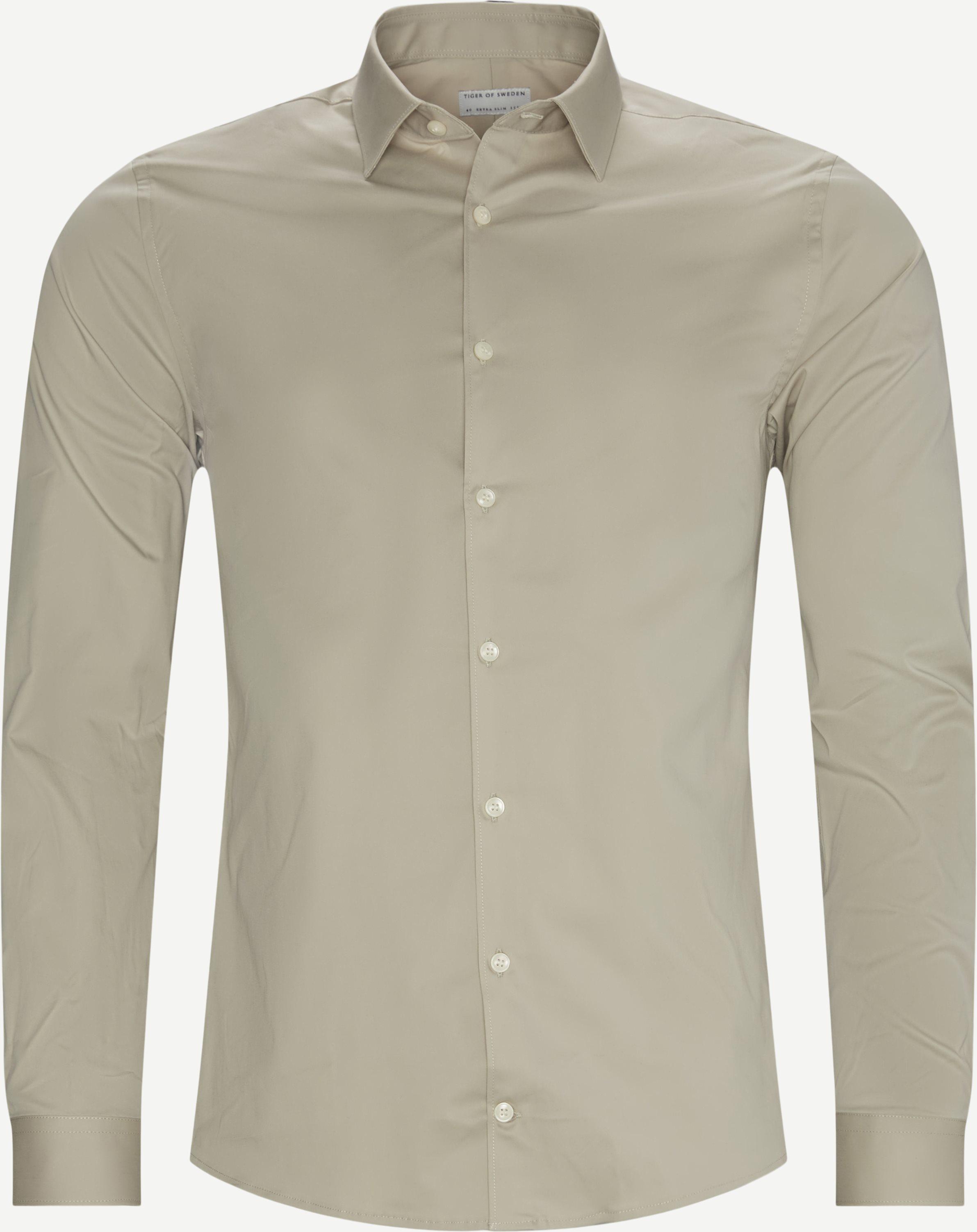 Filbrodie Skjorte - Skjorter - Slim fit - Sand