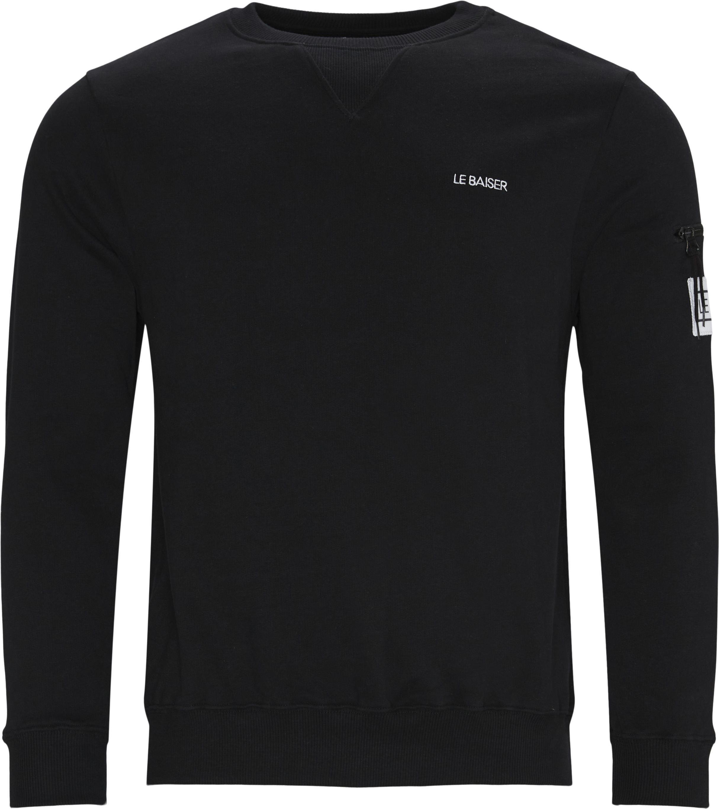 Vance Crewneck - Sweatshirts - Regular - Sort