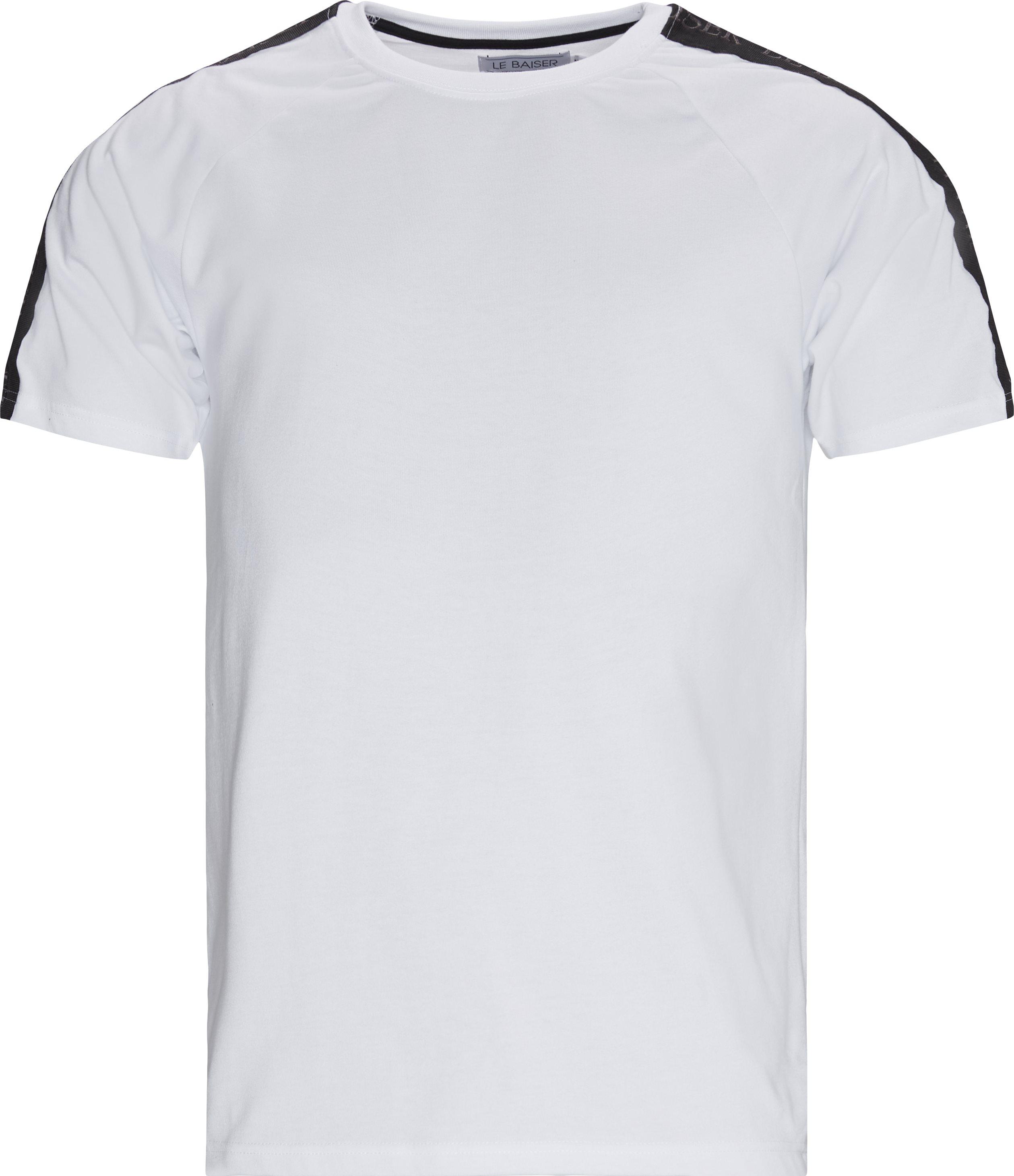 Menton Tee - T-shirts - Regular - Hvid