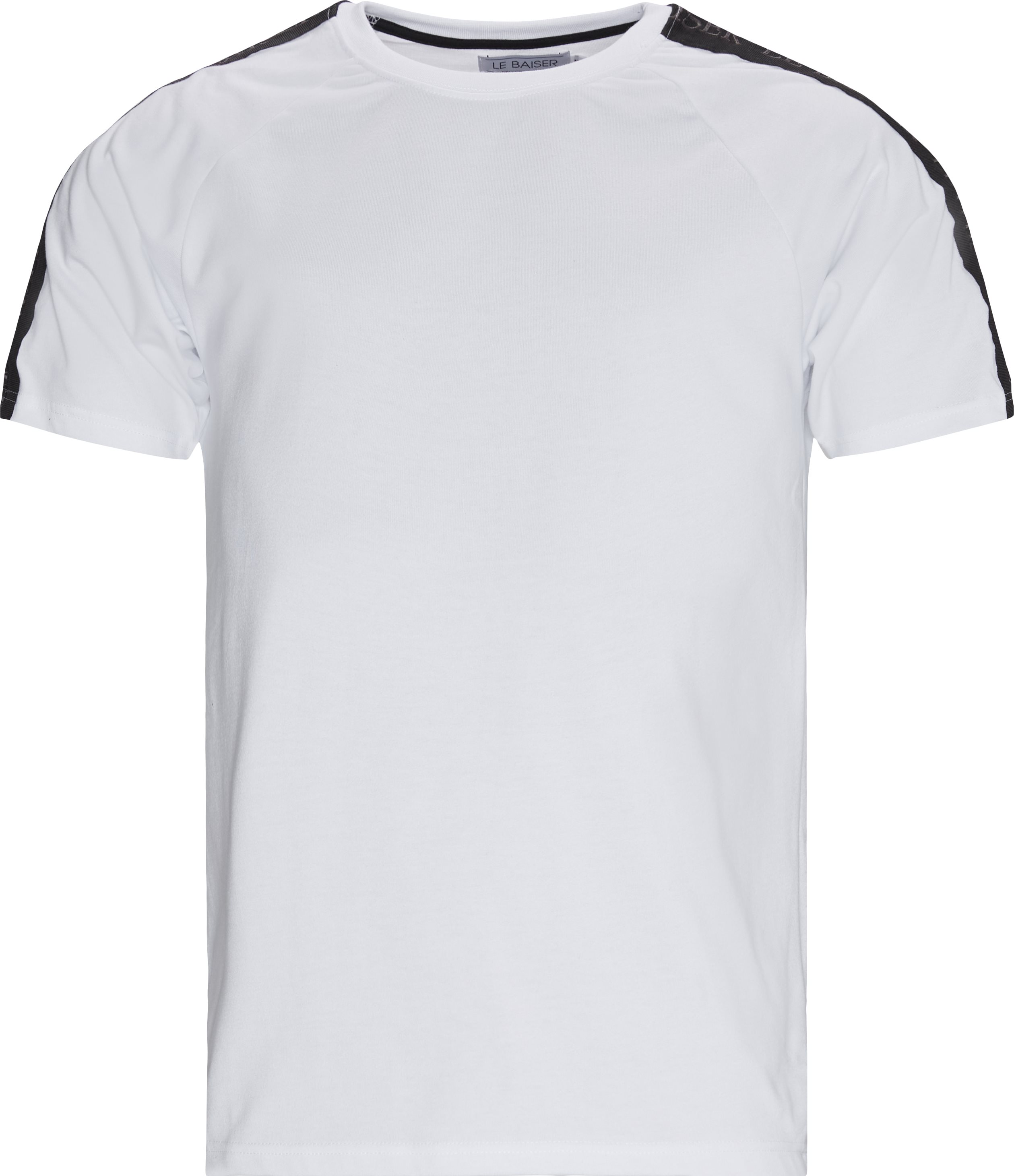 Menton Tee - T-shirts - Regular - Vit