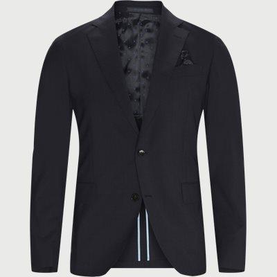 Tech Wool Napoli Blazer Slim fit | Tech Wool Napoli Blazer | Blå