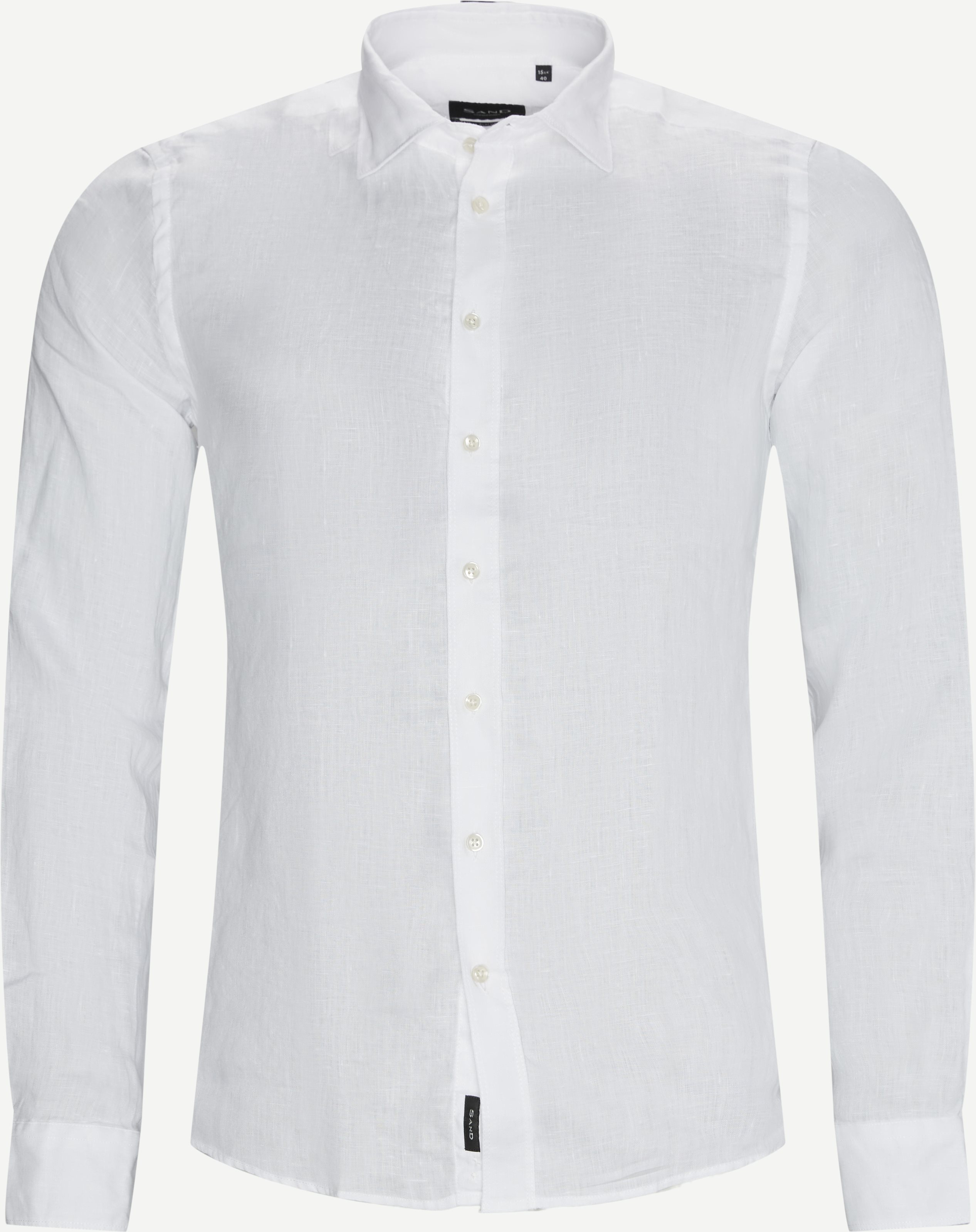 Iver State Skjorte - Skjortor - Slim - Vit