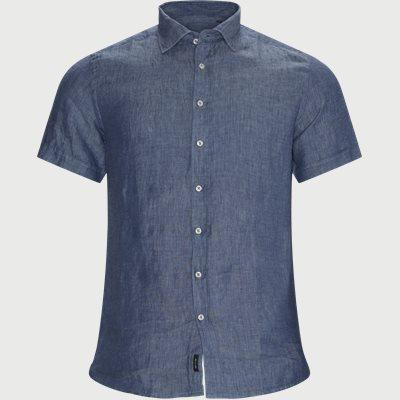 Slim fit   Kurzärmlige Hemden   Blau