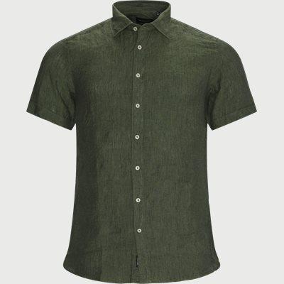 Iver State K/Æ Skjorte Slim fit | Iver State K/Æ Skjorte | Grøn