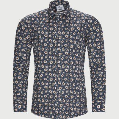 Jake Gordon Skjorte Slim | Jake Gordon Skjorte | Blå