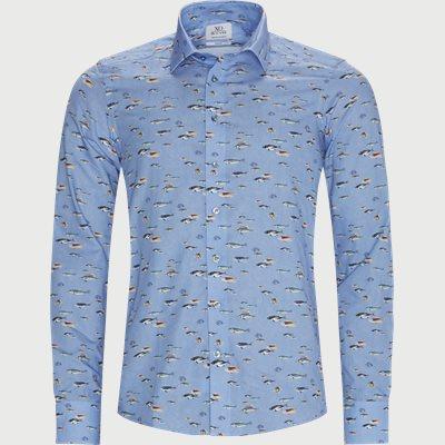 Jake & Gordon Skjorte Slim | Jake & Gordon Skjorte | Blå
