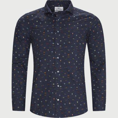 Jacky & Gordy skjorte Slim fit | Jacky & Gordy skjorte | Blå
