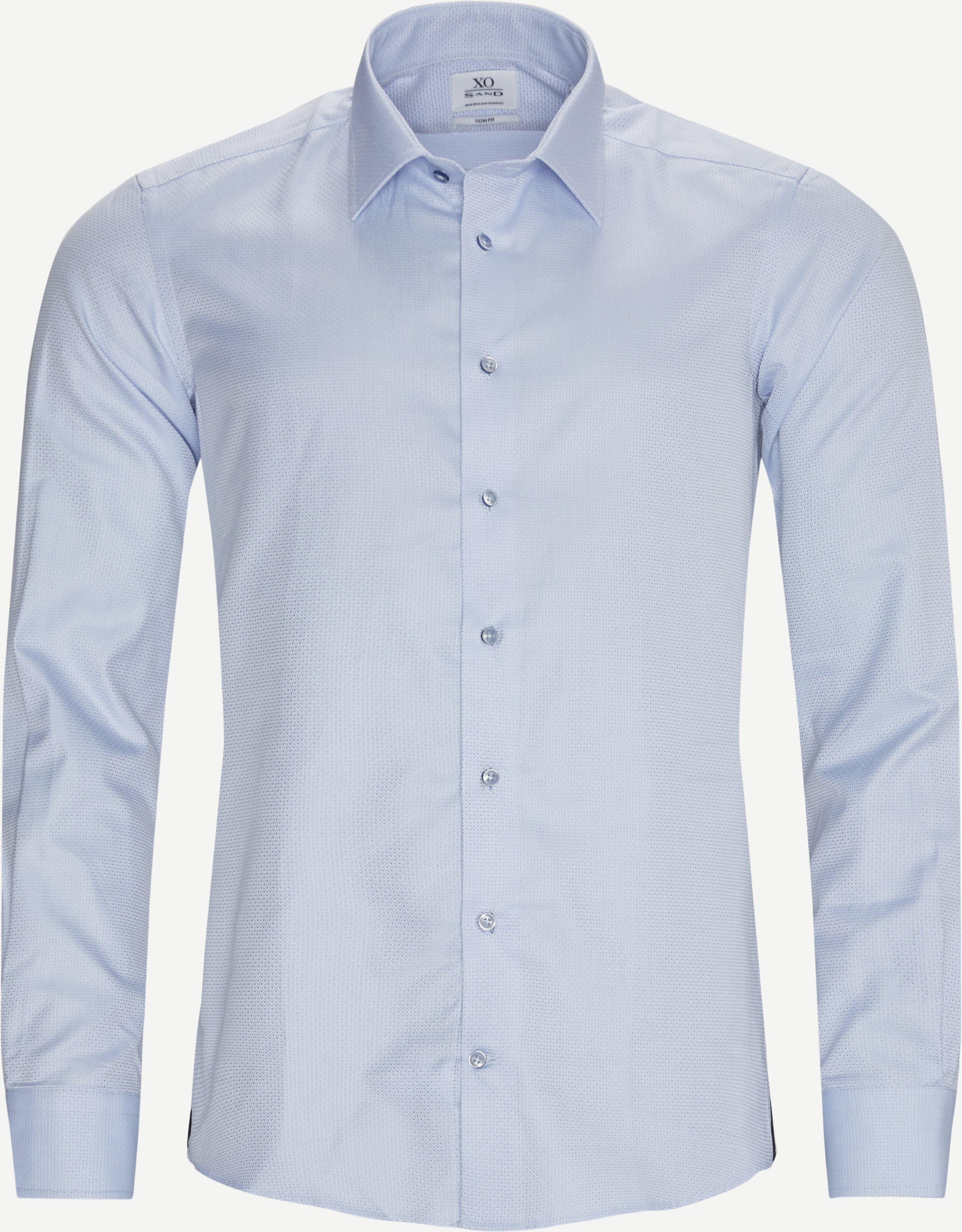 Jake Gordon Skjorte - Skjorter - Slim fit - Blå