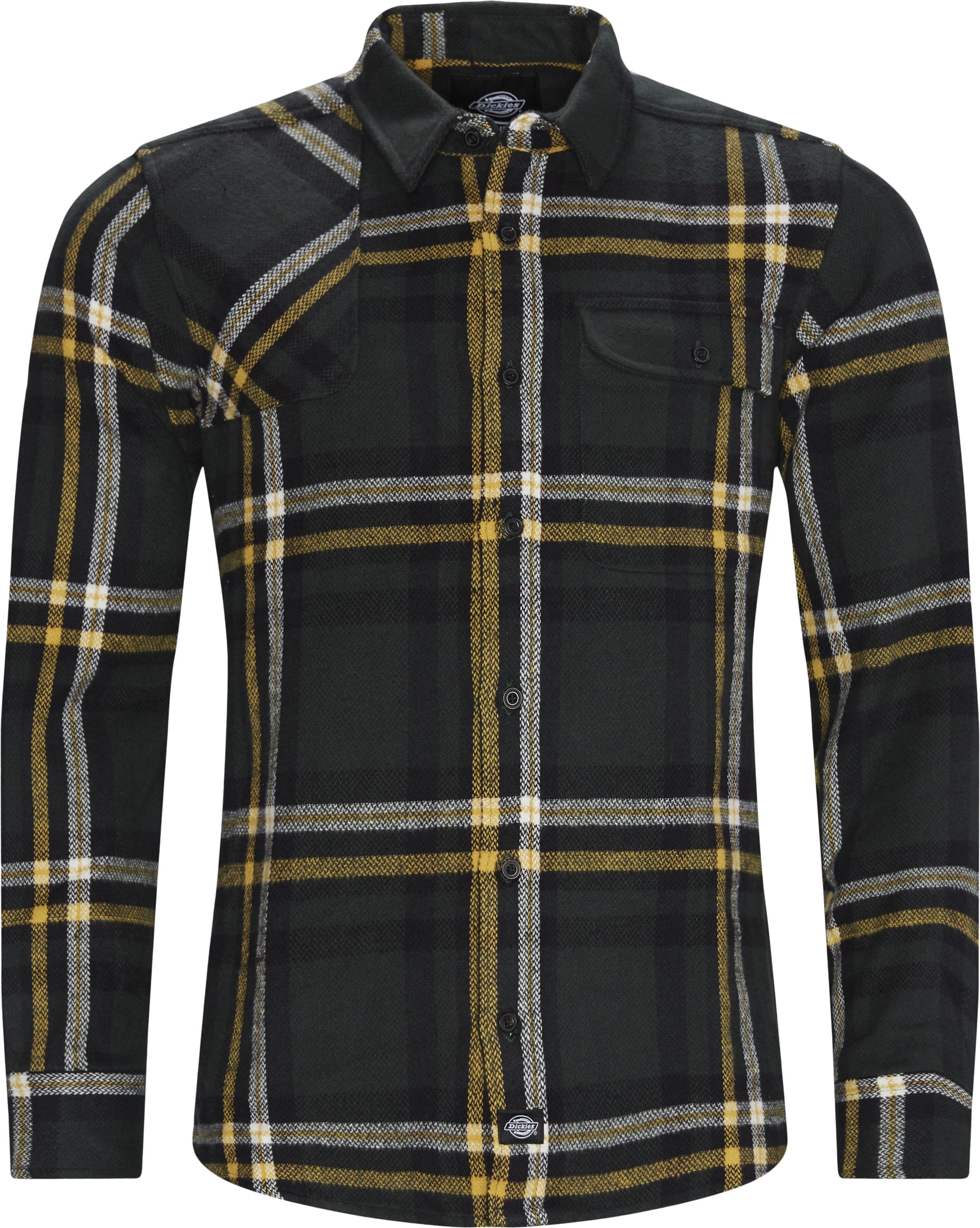 Prestonburg Skjorte - Skjorter - Regular - Grøn