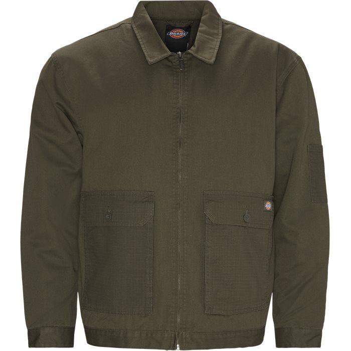 Utility Eisenhower Jacket - Jackor - Armé