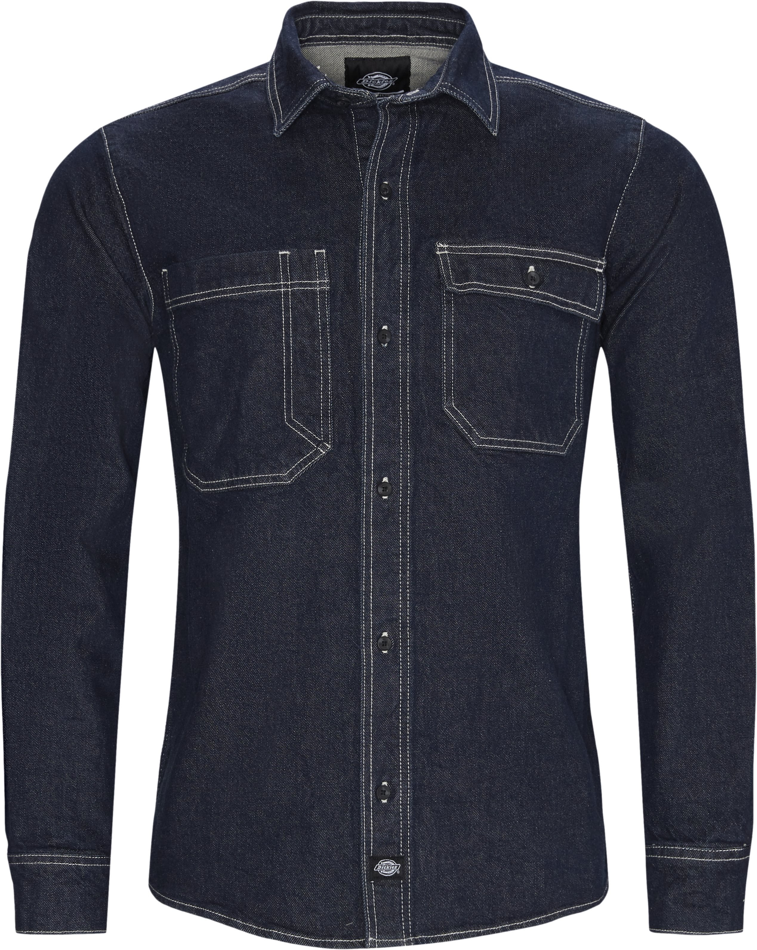 Paincourtville Denim Shirt - Skjorter - Regular - Denim