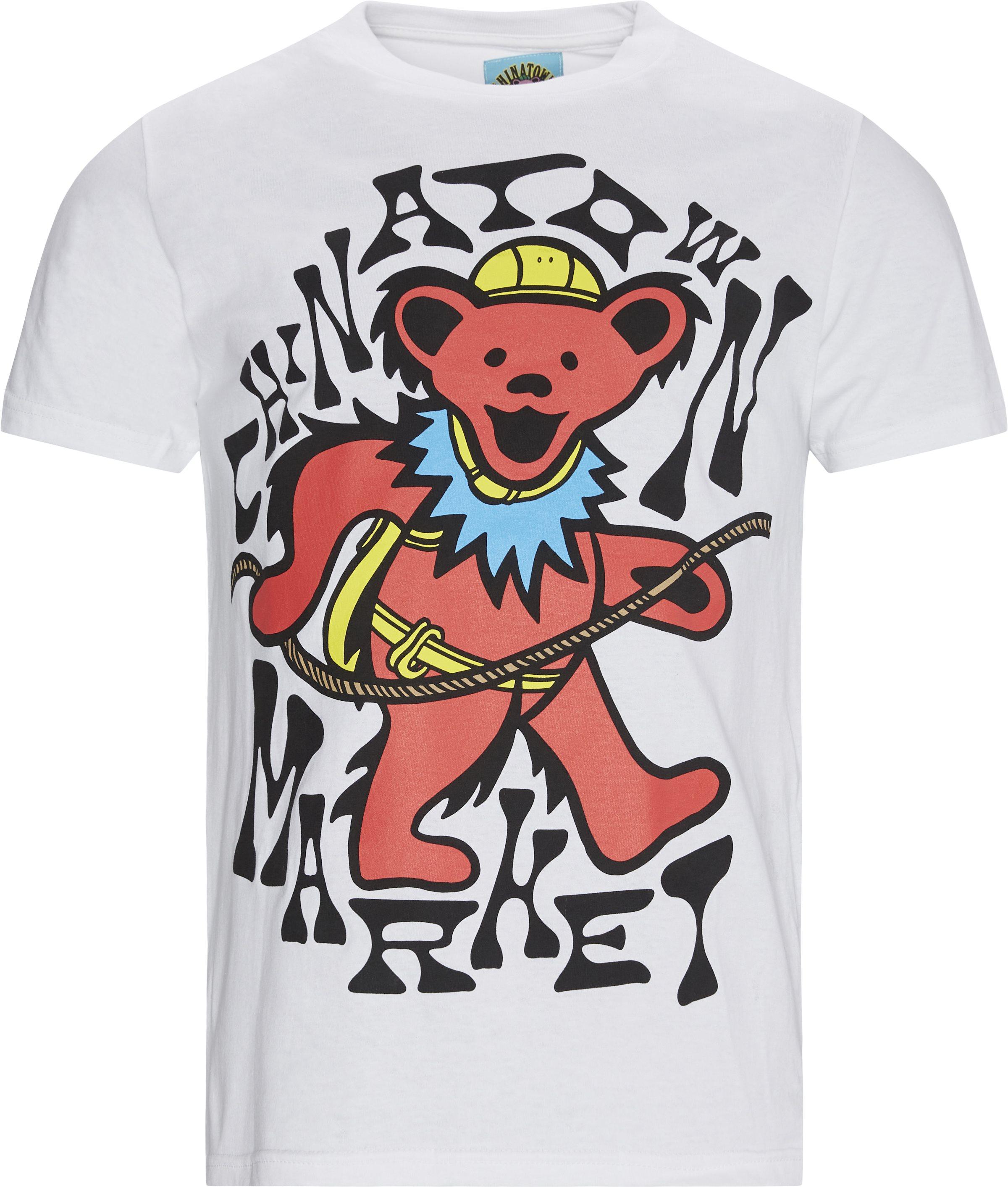 On Death Tee - T-shirts - Regular fit - Hvid
