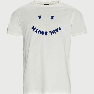 Logo T-shirt Regular fit | Logo T-shirt | Hvid