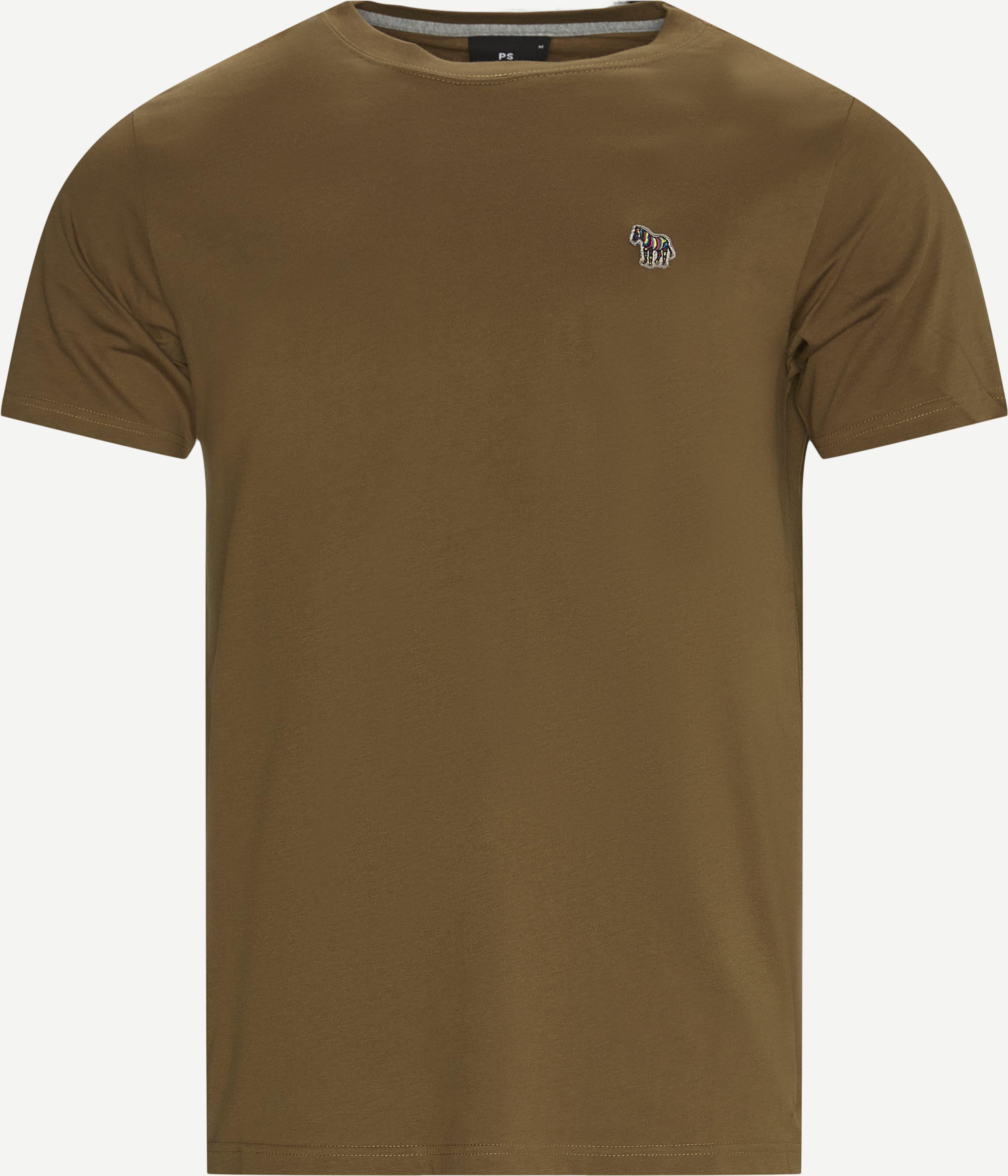 Logo T-shirt - T-shirts - Regular - Army