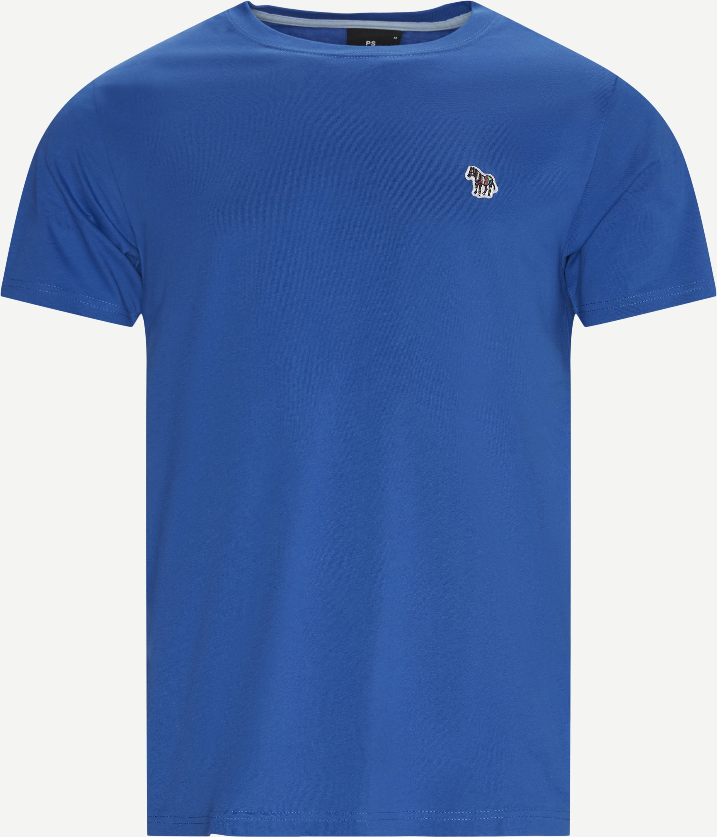 Logo T-shirt - T-shirts - Regular - Blue