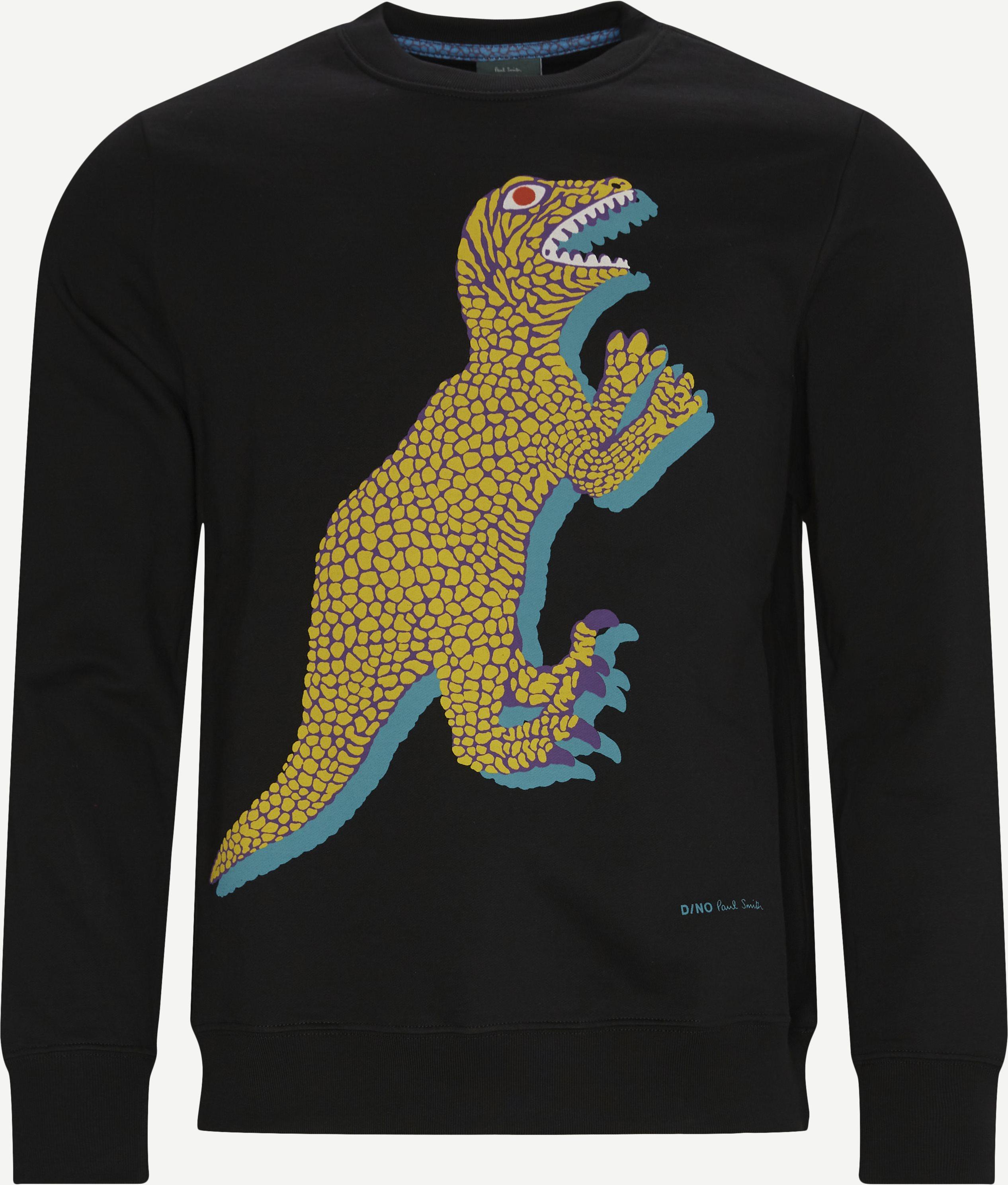 Crewneck Sweatshirt - Sweatshirts - Regular - Black