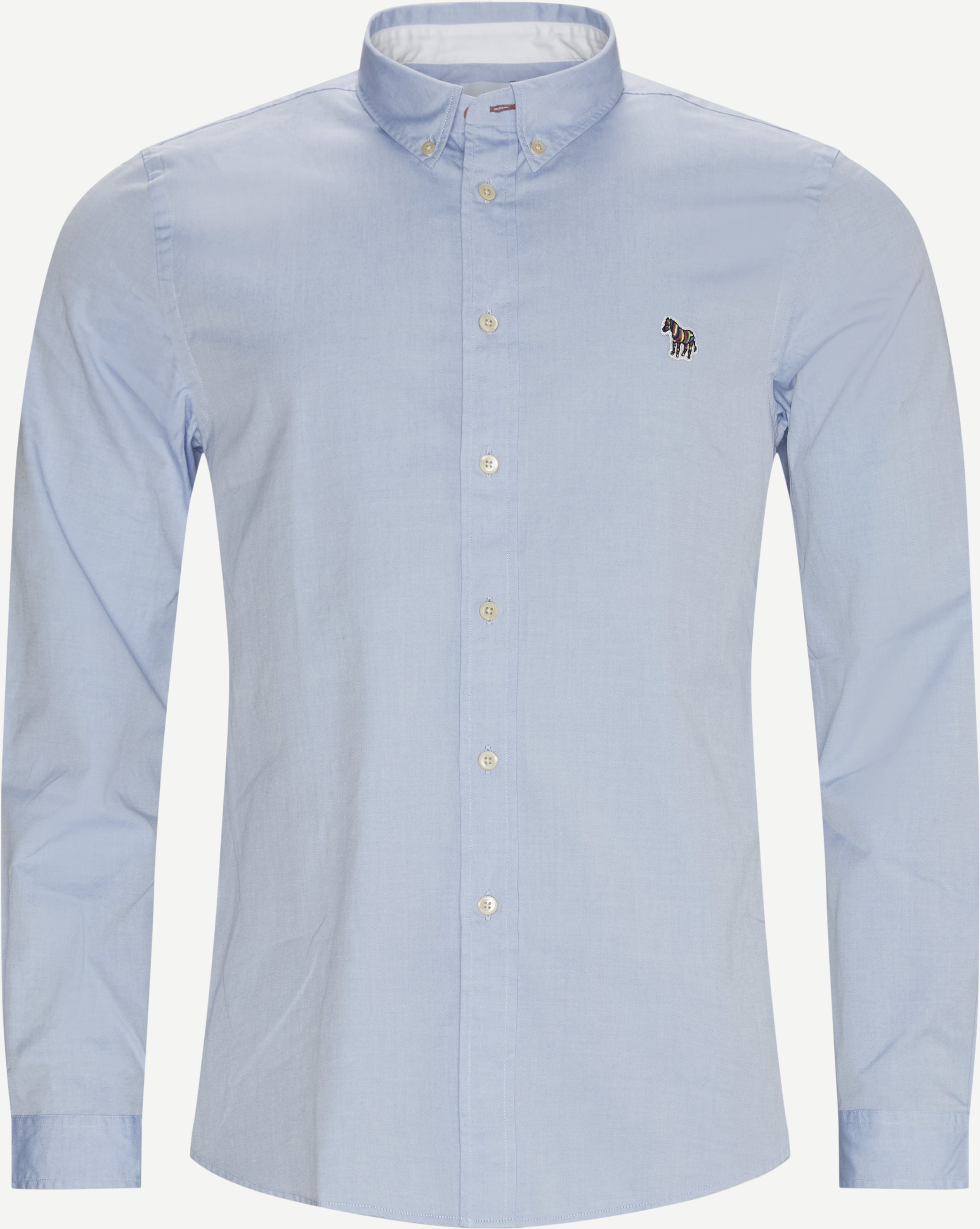 Fzebra Skjorte - Shirts - Regular - Blue