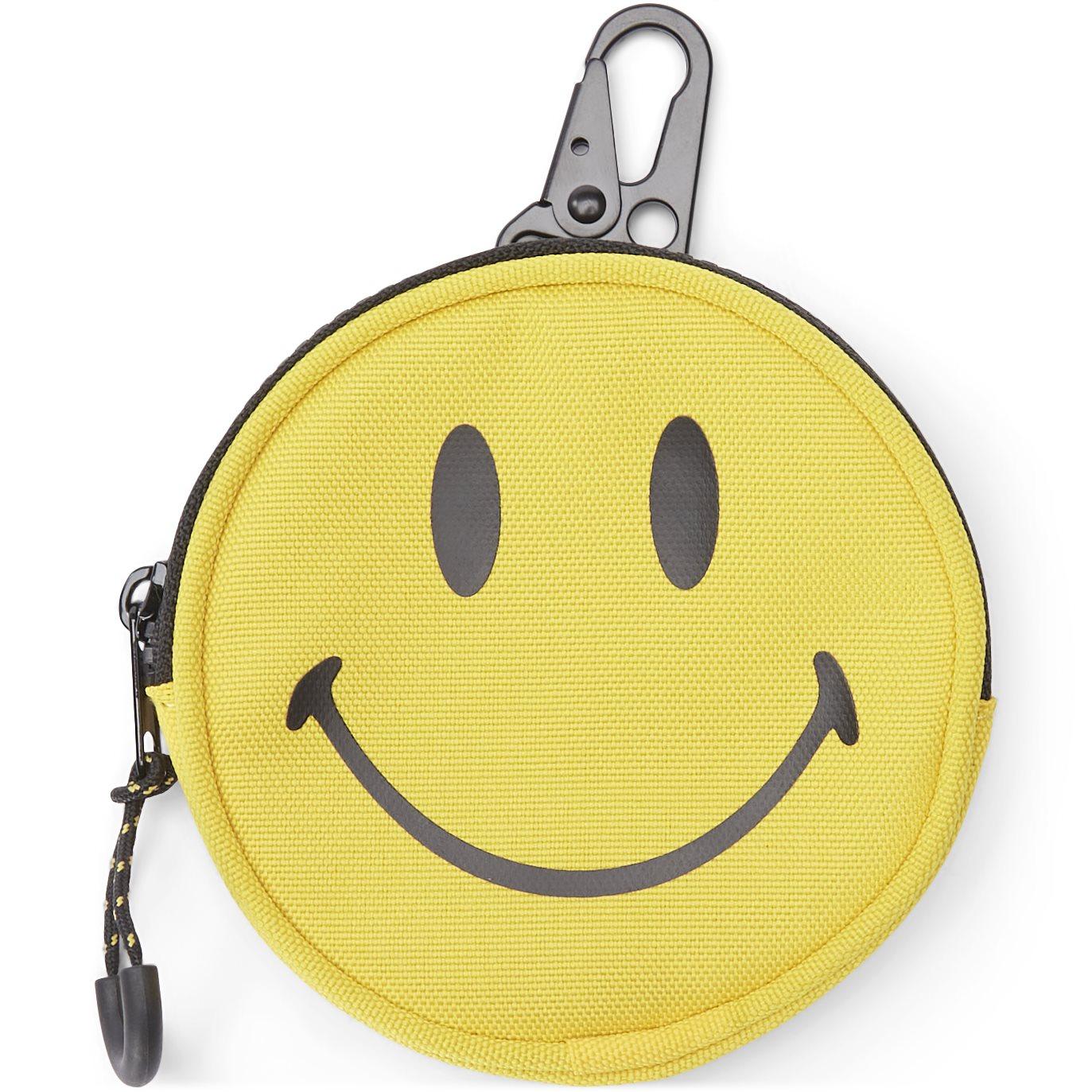 Smiley Clip Bag - Tasker - Gul