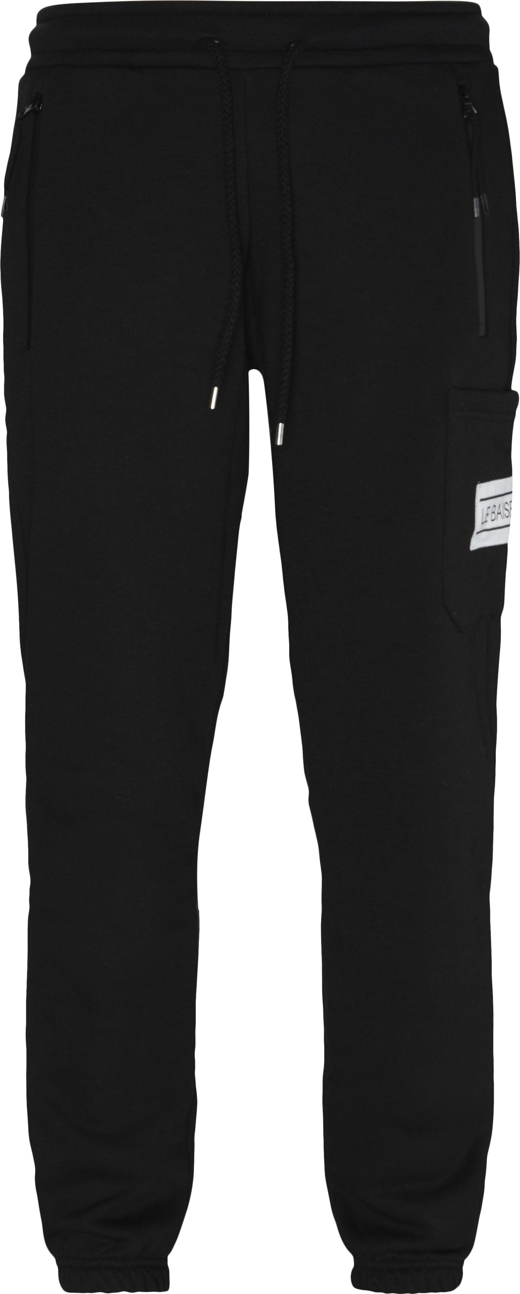 Nationale Sweatpants - Bukser - Regular fit - Sort