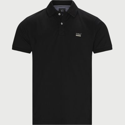 Nors Polo T-shirt Regular fit | Nors Polo T-shirt | Sort