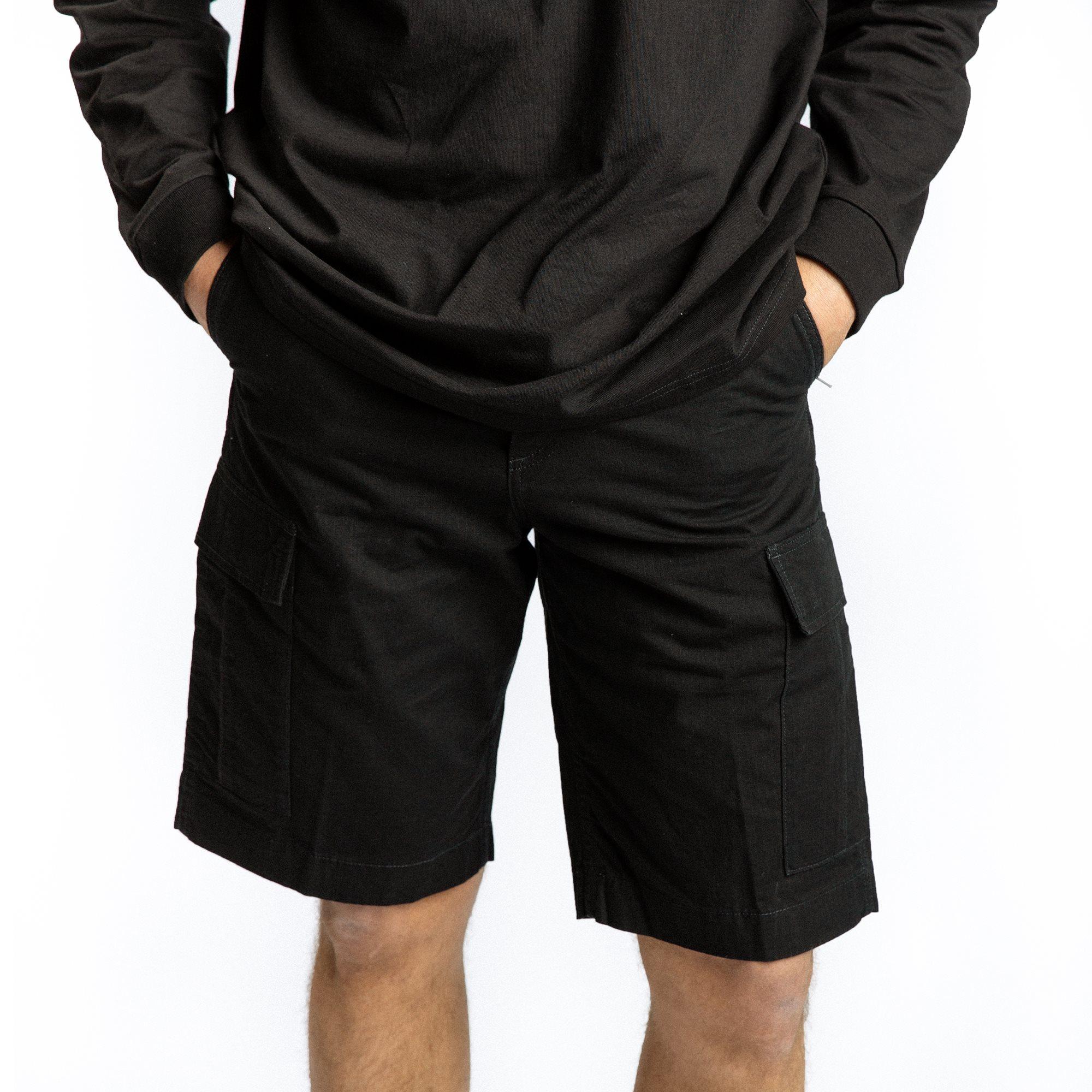 Regular Cargo Shorts I028246 - Shorts - Regular fit - Sort