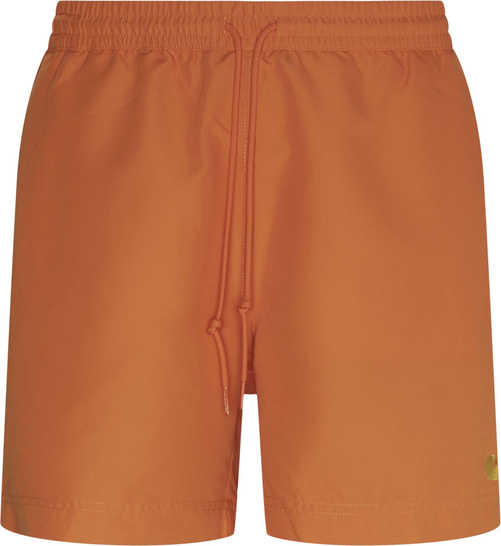 Shorts - Regular fit - Orange