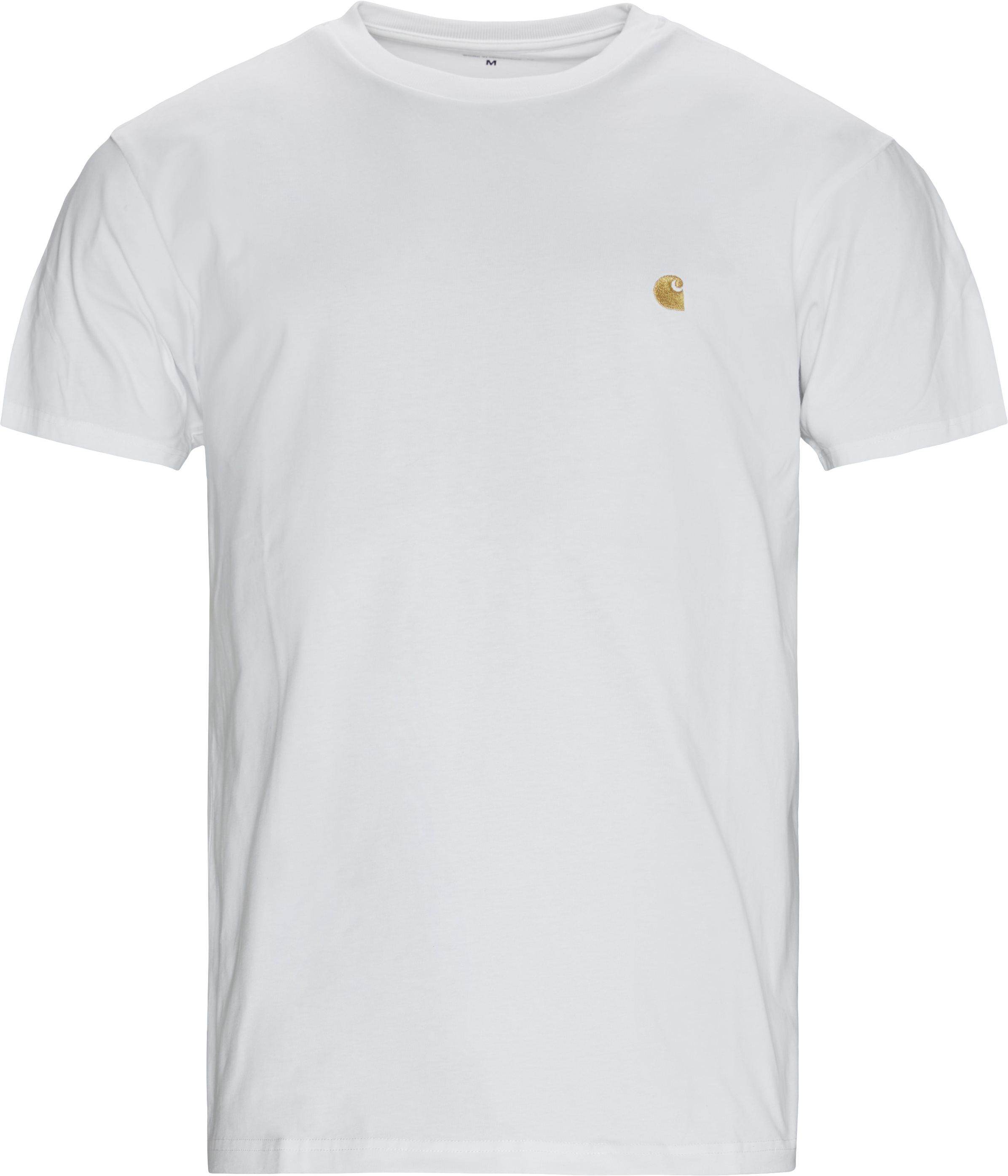 Chase Tee - T-shirts - Regular - Hvid