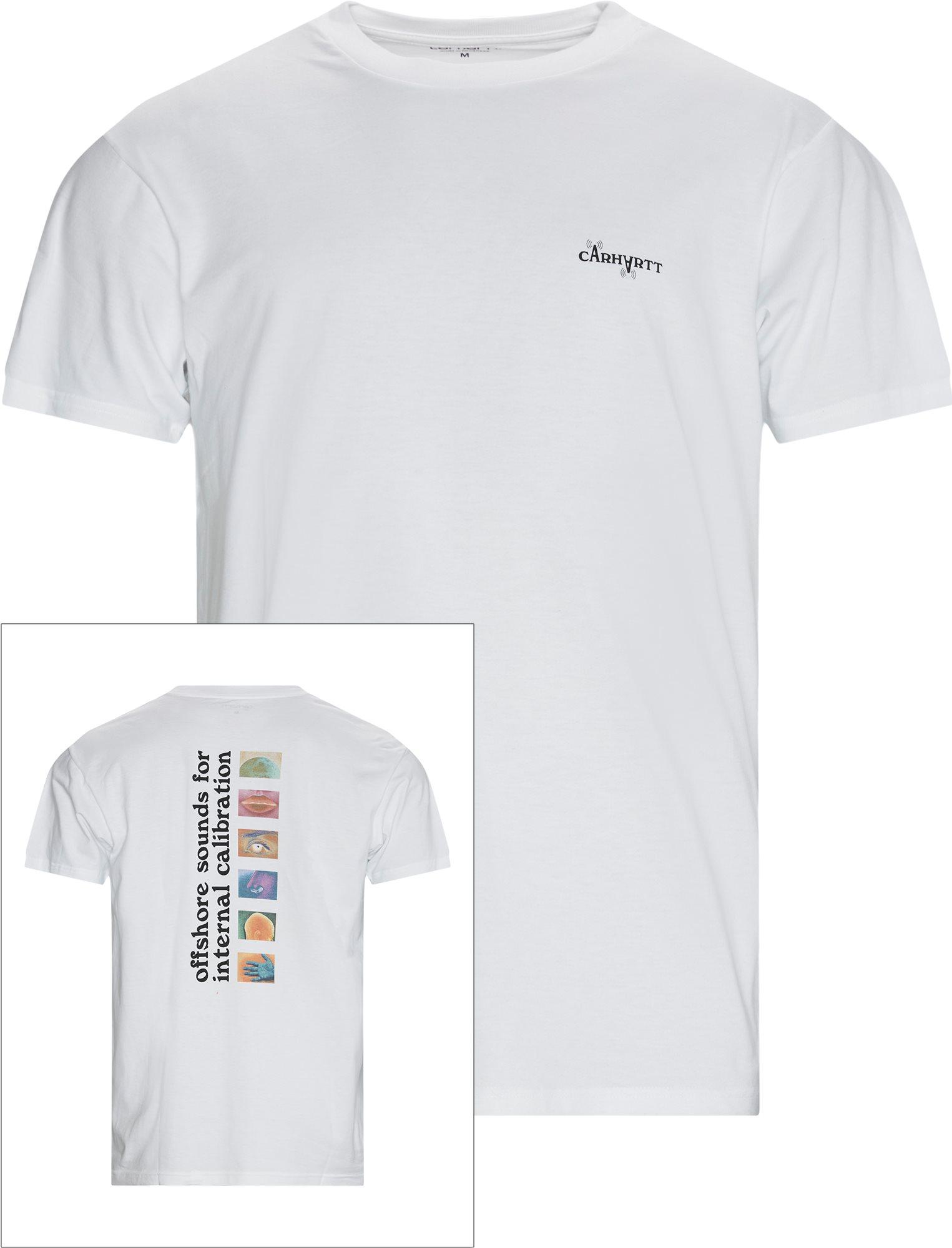 Calibrate Tee - T-shirts - Regular fit - White