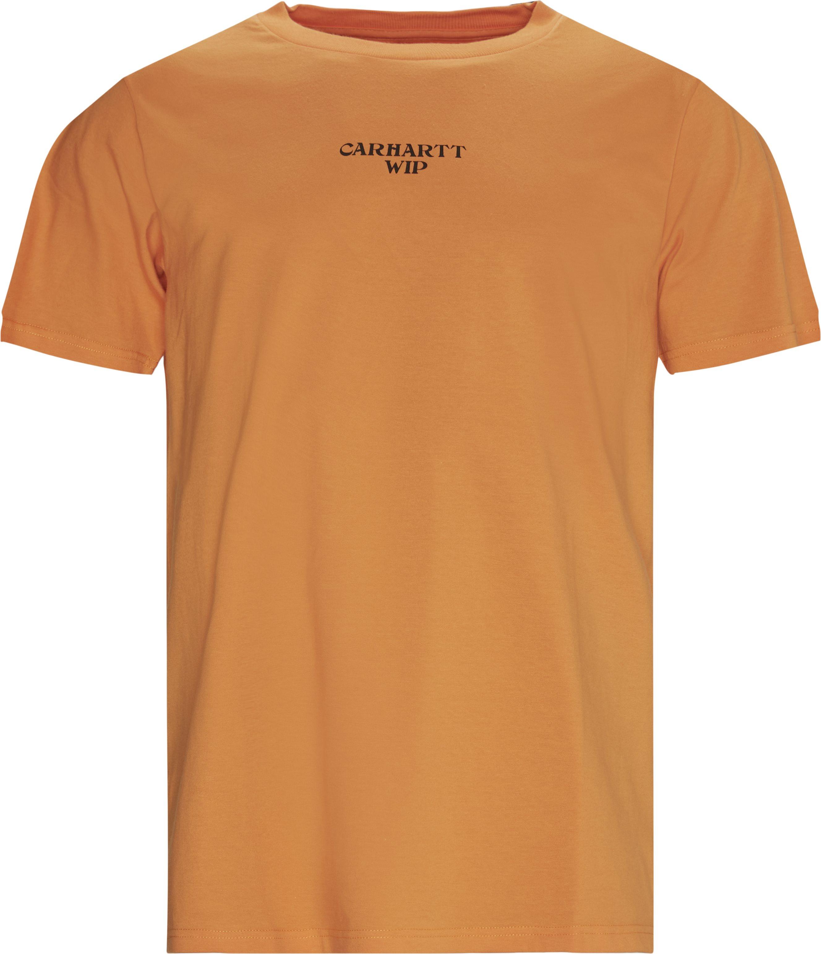 Panic Tee - T-shirts - Regular - Orange
