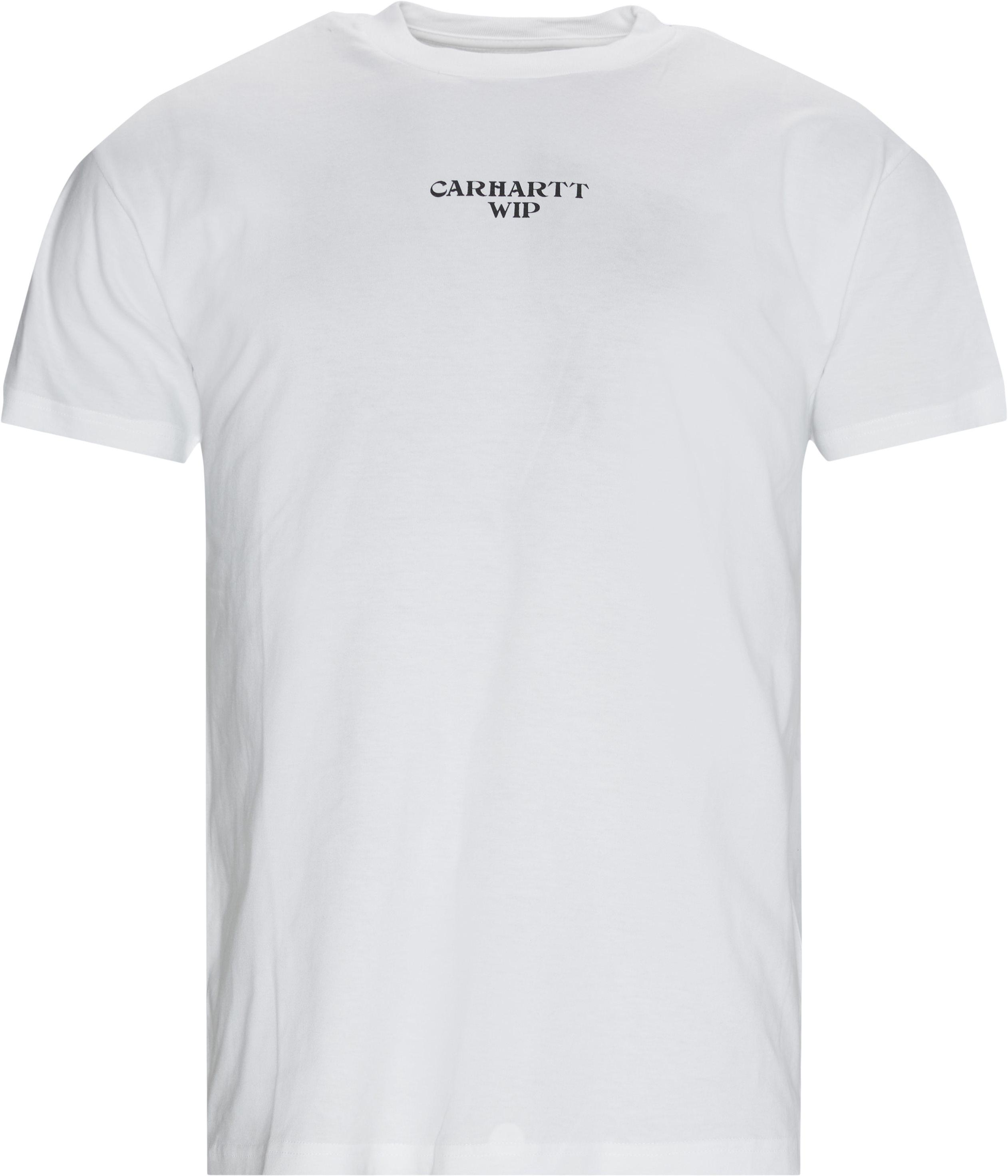 Panic Tee - T-shirts - Regular - Vit