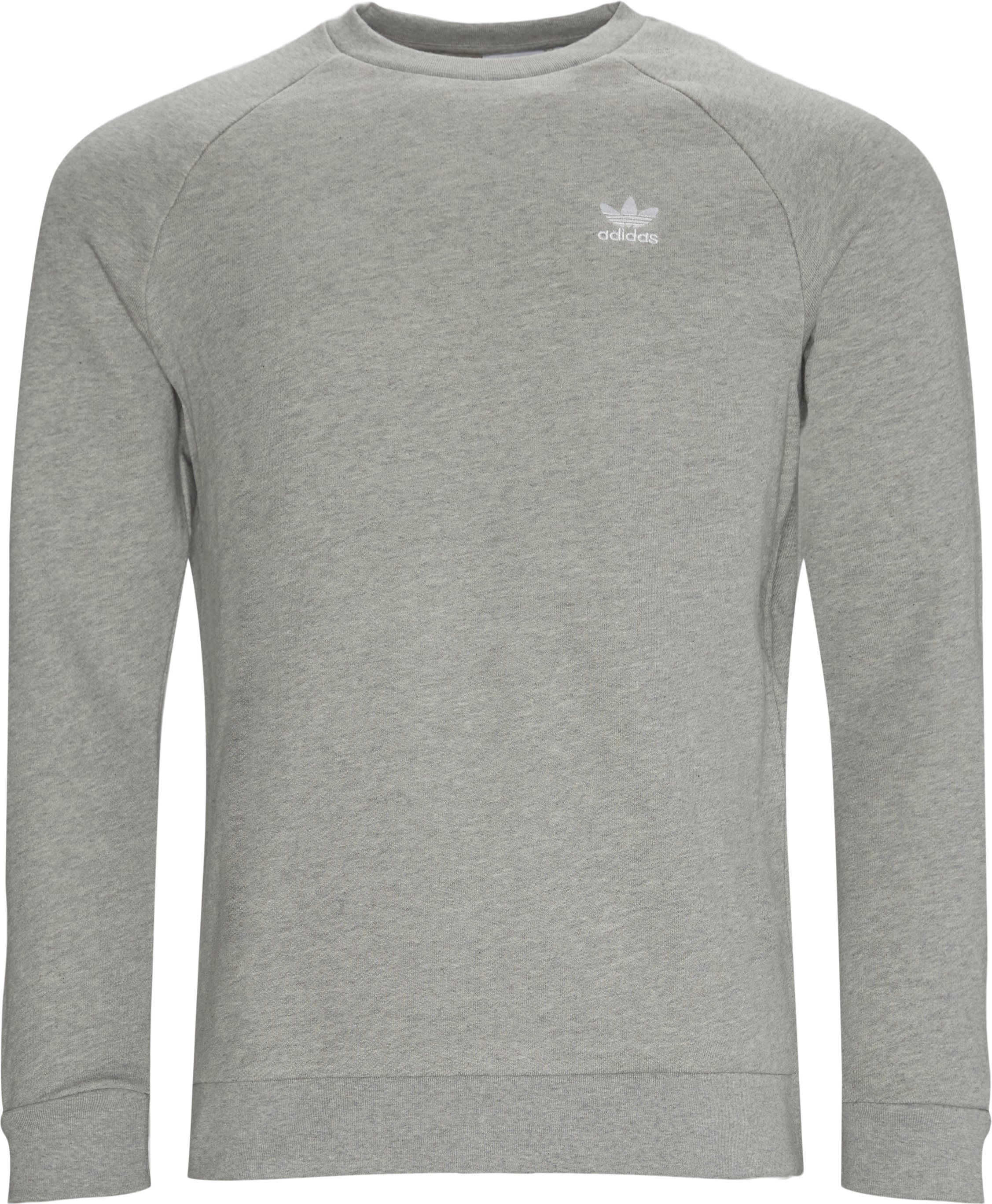 Essential Crewneck  - Sweatshirts - Regular - Grå