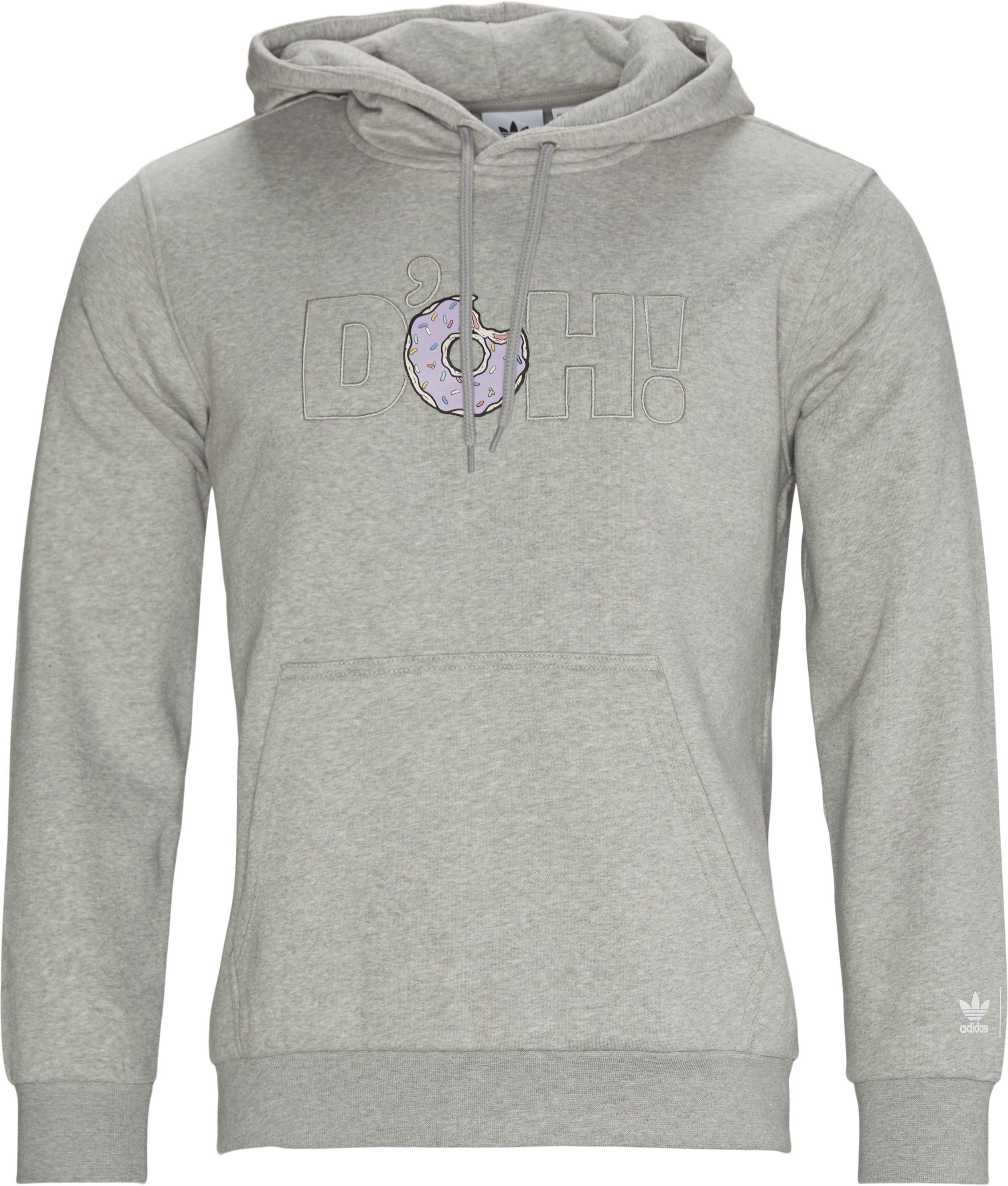 Smps Doh Hoodie  - Sweatshirts - Regular - Grå