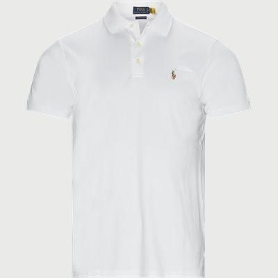 Logo Polo T-shirt Regular slim fit | Logo Polo T-shirt | Hvid