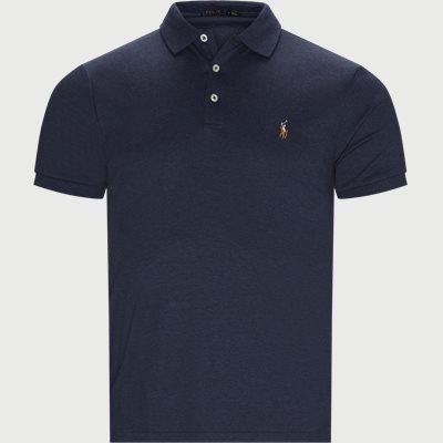 Logo Polo T-shirt Regular slim fit | Logo Polo T-shirt | Blå