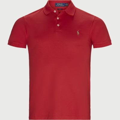 Logo Polo T-shirt Regular slim fit | Logo Polo T-shirt | Rød