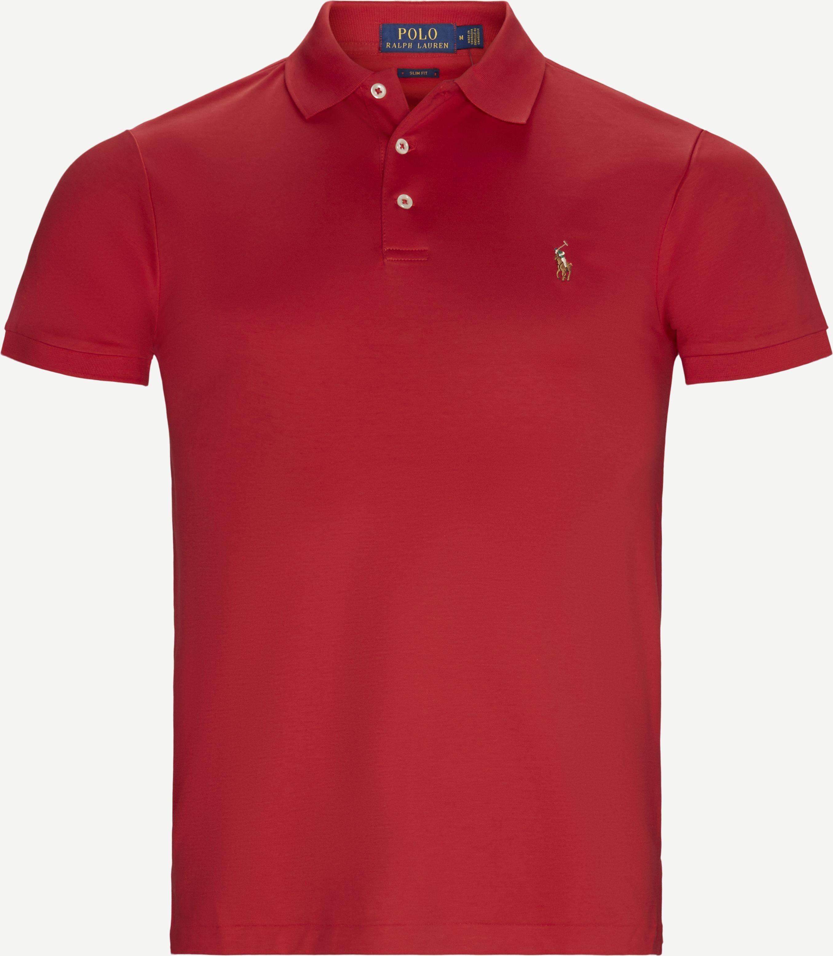 T-Shirts - Regular slim fit - Rot