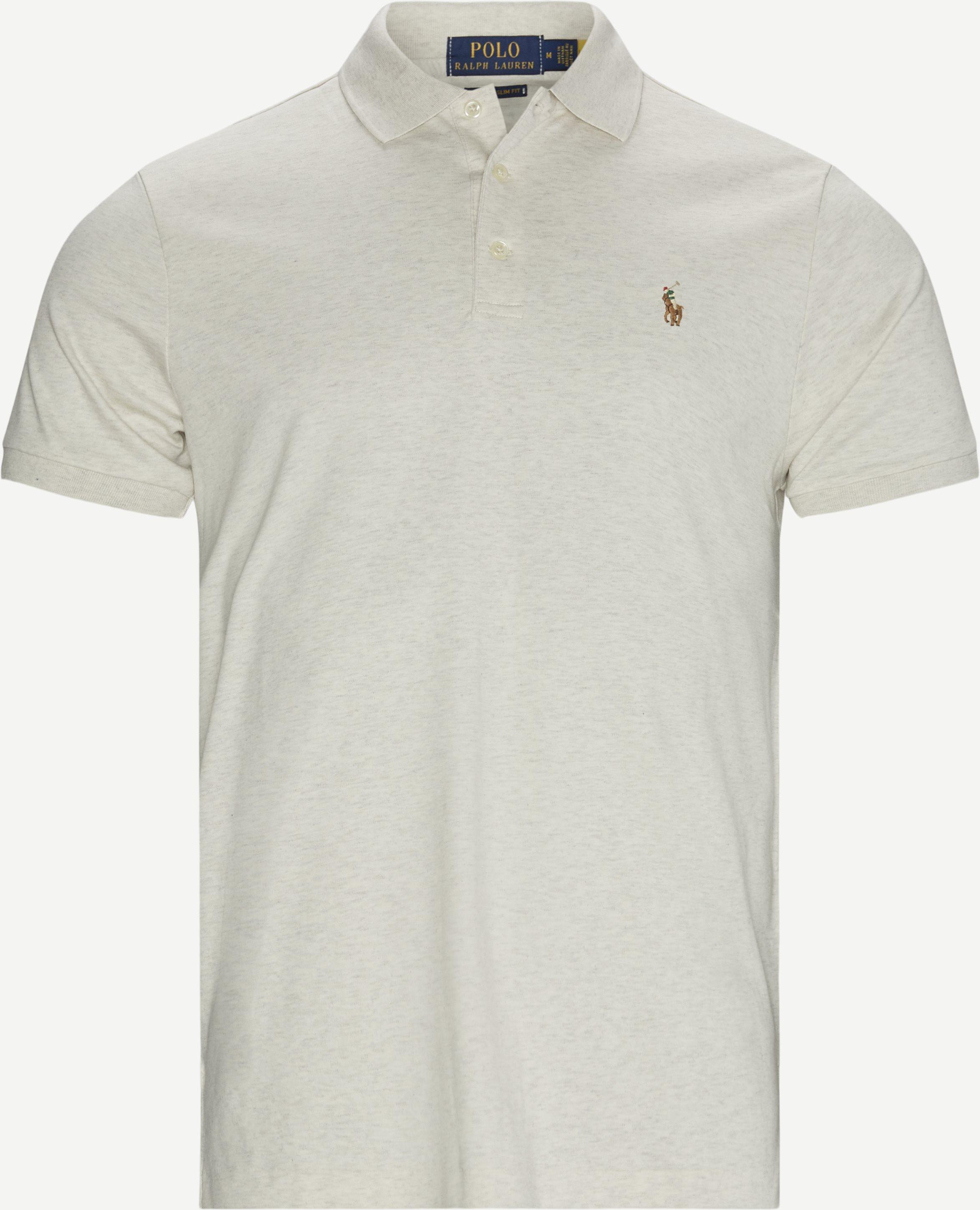 T-shirts - Regular slim fit - Sand