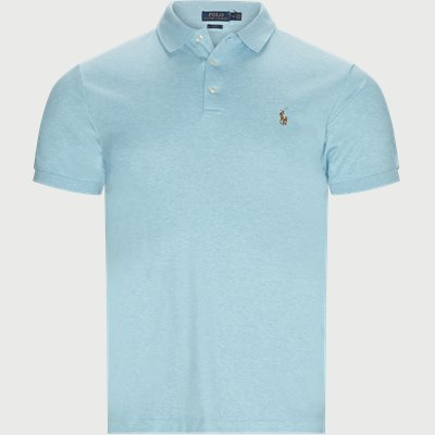 Logo Polo T-shirt Regular slim fit | Logo Polo T-shirt | Turkis