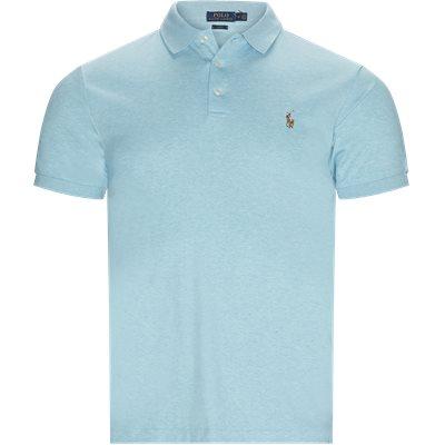 Regular slim fit | T-shirts | Turquoise